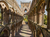 Jedburgh Abbey, Scotland Stock Photography