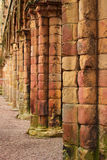 Jedburgh abbey - tourists attraction Stock Image