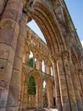 Jedburgh-Abtei, Schottland Stockbilder