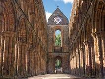Jedburgh-Abtei, Schottland Lizenzfreie Stockfotos