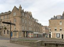 Jedburgh city view Stock Photography