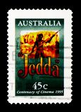 Jedda, столетие serie кино, около 1995, стоковые изображения rf