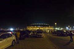 Jedda, la Arabia Saudita -16 octubre de 2018, rey abdullah se divierte el estadio de la ciudad es casero al fútbol de la Arabia S imagenes de archivo