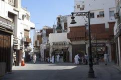Jedda viejo Balad el viejo mercado en Jedda Era del pre-Islam, Saud imágenes de archivo libres de regalías