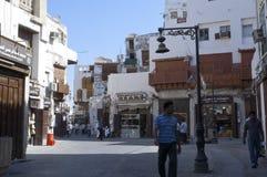 Jedda viejo Balad el viejo mercado en Jedda Era del pre-Islam, Saud fotografía de archivo libre de regalías