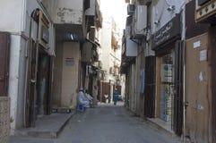 Jedda viejo Balad el viejo mercado en Jedda Era del pre-Islam, Saud imagen de archivo libre de regalías