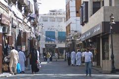 Jedda viejo Balad el viejo mercado en Jedda Era del pre-Islam, Saud imagenes de archivo