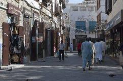 Jedda viejo Balad el viejo mercado en Jedda Era del pre-Islam, Saud foto de archivo