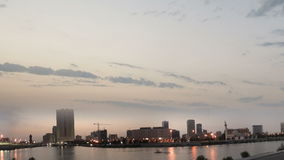 Jeddah downtown at dawn Royalty Free Stock Photography