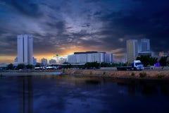 Jeddah, het handelscentrum Royalty-vrije Stock Foto's