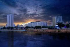 Jeddah, le centre commercial Photos libres de droits