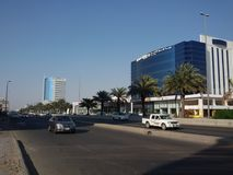 Jeddah madina road Stock Images