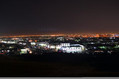 Jeddah  at night Royalty Free Stock Image