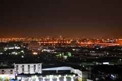 Jeddah  at night. 