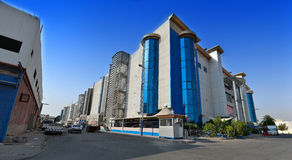Jeddah South mall. Panoramic image Royalty Free Stock Photos