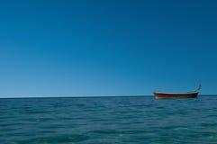 Jeden łódź Zdjęcia Royalty Free