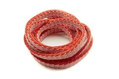 Jeden arkana, Czerwony Coiled w spirali obrazy royalty free