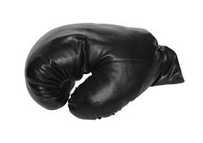 Jeden bokserska rękawiczka Fotografia Stock