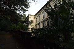 Jeden budynki sławny ery sanatorium Zdjęcia Stock