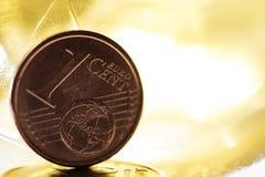 jeden cent zdjęcia stock