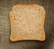 Jeden chlebowy plasterek Zdjęcie Stock