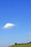 jeden chmury Obraz Stock