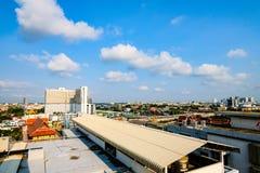 Jeden coner w Bangkok ładnego dzień zdjęcie stock