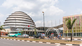 Jeden czyści miasta w Afryka, Kigali Obrazy Stock
