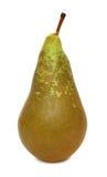 Jeden dojrzała zielona bonkreta (odizolowywająca) Obrazy Stock