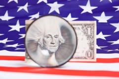 jeden dolar Zdjęcie Stock