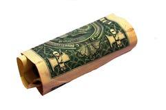 jeden dolar Zdjęcia Stock