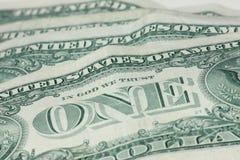 Jeden dolar - pieniądze Obraz Royalty Free