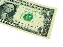 jeden dolar rachunki Zdjęcie Stock