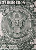 jeden dolar rachunki Fotografia Stock