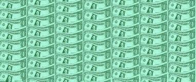 Jeden dolara amerykańskiego banknot fotografia stock