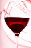 jeden dwa wineglasses Zdjęcia Royalty Free