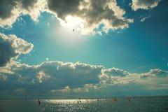 Jeden dzień windsuring w Polska Fotografia Stock