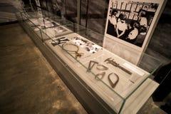 Jeden ekspozycje holokaust historii muzeum, eksponuje instrumenty dla racialization żyd israel Jerusalem 24 obrazy royalty free