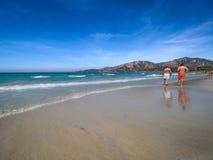 Jeden fenomenalne i uncontaminated plaże wyspa zdjęcia stock