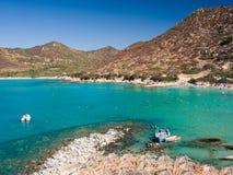 Jeden fenomenalne i uncontaminated plaże wyspa obraz royalty free