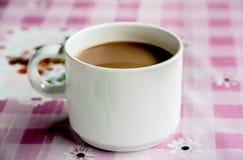 Jeden filiżanka kawy Zdjęcia Stock