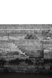 Dwa schody morze Obrazy Royalty Free