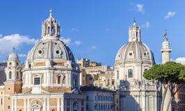 Jeden katedry w Rzym Włochy Obrazy Royalty Free
