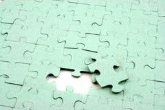 jeden kawałek jigsaw Zdjęcie Stock