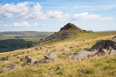 Jeden mój ulubeni widoki na Dartmoor Zdjęcie Stock