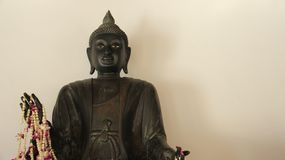 Jeden metal Buddha zdjęcia stock