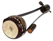 Jeden nawleczony instrument muzyczny znać jako Ektara Obraz Stock