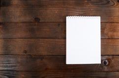 Jeden notatniki zamykają up zdjęcie royalty free