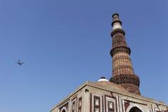 Jeden Nowy Delhi UNESCO światowego dziedzictwa trzy miejsca, Qutub Minar, New Delhi, India Zdjęcia Royalty Free