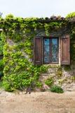 Jeden okno typowy włoski stary gospodarstwo rolne obrazy stock